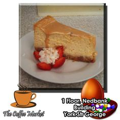 You have not had dessert until you have tried our freshly made Sweet Potato Cheese Cake. The Coffee Market is offering you the cake of the day with a cup of filtered coffee every day from 15h00 until 17h00 for only R20.00. Unwind and indulge yourself with this extraordinary home made delight. #comfortfood #cuisine #Ilovecake