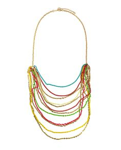 Color My World Layered Necklace  $32