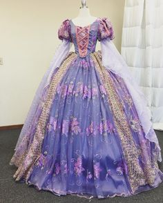 Rapunzel (Costume by TheDesignerDaddy Bridal Outfits, Dress Outfits, Fashion Dresses, Disney Princess Dresses, Disney Dresses, Disney Princess Costumes, Pink Princess, Robes Disney, Rapunzel Costume