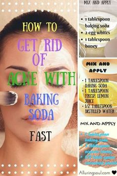 Baking soda for face can be a good option for getting rid of skin issues.