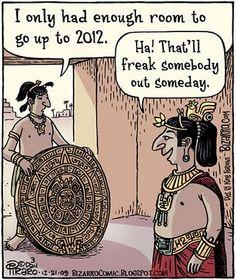 2012 the end..? haha.