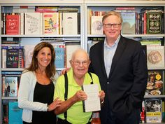 "In researching their book, Caren Zucker and John Donvan tracked down Donald Gray Triplett (center), the first person officially diagnosed with autism. Now in his 80s, Triplett has had a long, happy life, Donvan says, maybe partly because his hometown embraced him from the beginning as "" 'odd, but really, really smart.' """