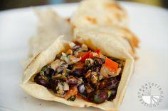 Special Black Bean Burritos...great twist to your classic burrito! www.vegetariangastronomy.com