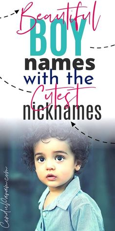 Looking for baby name inspiration? Check out these uncommon boy names with the cutest nicknames you'll LOVE! Lot's of unique baby names as well as classic boy names for every kind of mom's taste. Baby names from A to Z that are perfect for Greek Names For Boys, French Boys Names, English Boy Names, Strong Boys Names, Scottish Boys Names, Irish Baby Boy Names, Unique Baby Boy Names, Girl Names