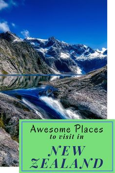 10 Awesome Places to visit in New Zealand. We have made a list of the best places to visit in New Zealand.   #backpackingnz #travelnz