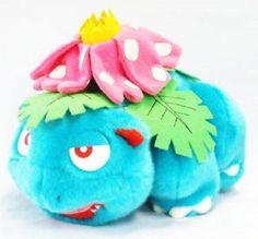 Takara Tomy Pokemon Plush Doll Venusaur  Bisaflor Florizarre 이상해꽃 bag With gifts #TakaraTomy