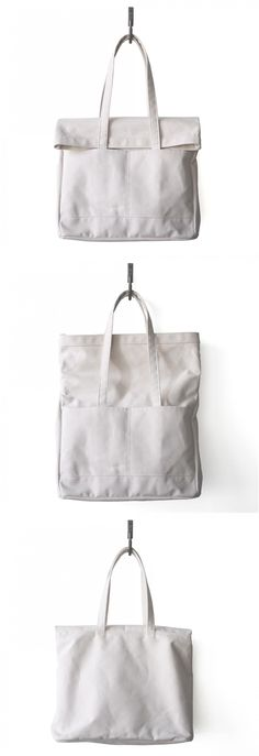 Large roll/fold top weekender/market bag made of 100% cotton.
