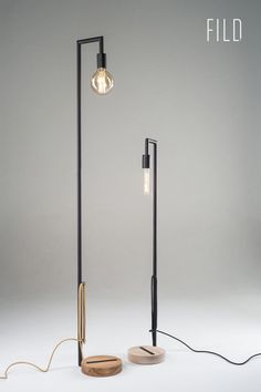 FILD launched their SO1 floor lamp, in a modern collection called SUSTAINABLE ORIGINS, with a goal to create minimalist forms out of honest materials.