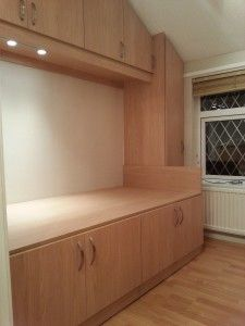 Cabin Beds For Small Rooms bed over stair box with built in storage underneath. this is what