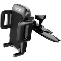 Mpow Car Phone Holder,CD Slot Car Phone Mount Universal Car Cradle Mount with Three-Side Grips and One-Touch Design for iPhone 8/7/7P/6s/6P/5S, Galaxy S5/S6/S7/S8, Google, LG, Huawei and More         ** For more information, visit image link. (This is an affiliate link) #CellPhonesAccessories
