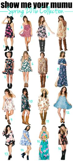 I'll take one of each, please! Loving Show Me Your Mumu's Spring collection.