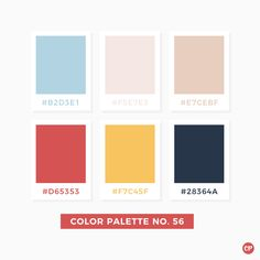 Color Palette No. 56 #color #colorscheme #colorpalette