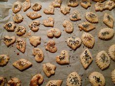 Rezept Käsegebäck international -> der Partyhit an Silvester von Heimchen - Rezept der Kategorie Backen herzhaft
