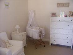 Land House Reno: House tour - Ikea Hemnes in nursery. Ikea Jennylund chair