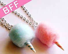 Donut Necklace Large Doughnut Pendant Necklace by FatallyFeminine