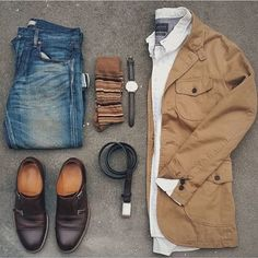 "MEN\'S FASHIONS on Instagram: ""Outfitgrid by @thedressedchest via ✅@BestOfMenstyle"""