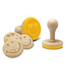 Smiley Silicone Cookie Stamps