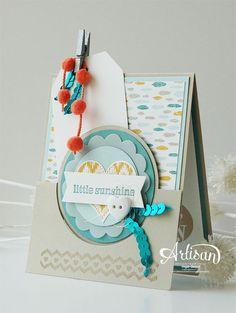 Stampin' Cards and Memories: Stampin'UP! Artisan Bloghop