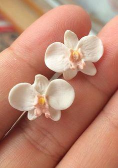 Orecchini Orchidee