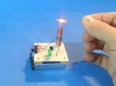 Make a mini Tesla coil to wow your friends…