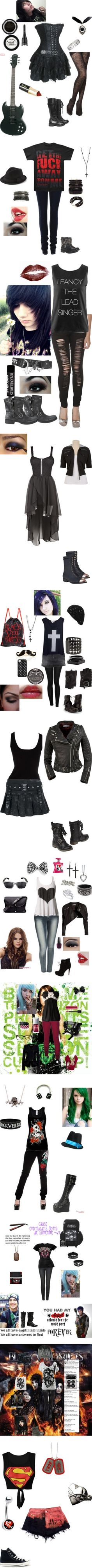 """""""Emo"""" by suicidalmemories ❤ liked on Polyvore"""