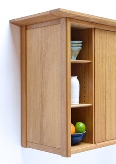 Beautifulwood, Bespoke Furniture & Joinery in the Arts & Crafts Tradition | Midhurst, West Sussex - Blog - Kitchenette Sideboard inOak