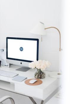 home office tour with Not Your Standard #interior #desk