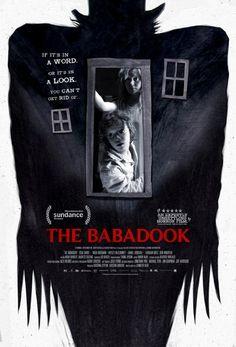 "La locandina del film horror ""The Babadook"" (Australia, 2014)"