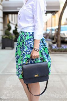 Floral Skirt Two Ways