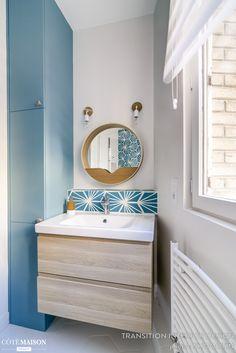 Rénovation complète d'un appartement de 70 m2 à Paris, Transition Interior Design - Côté Maison
