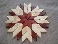 Wooden trivets. Wood stands for hot by WoodenOKshop on Etsy