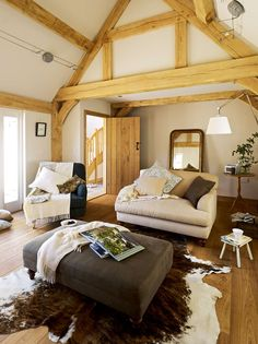 Modern Barn-style Oak Frame Home | Homebuilding & Renovating