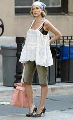 Carrie Bradshaw - Crazy Outfit (Only Carrier Could Wear) - Sex and the City