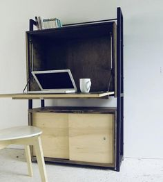 Reclaimed Wood Secretary Desk