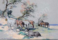 doigneau-edouard-edmond-1865-1-chevaux-au-repos-