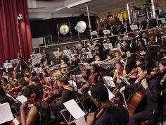 Eu e a Orquestra!!!