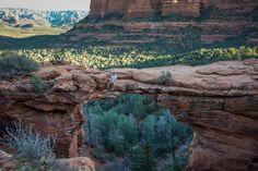 Hike to Devil's Bridge, Arizona