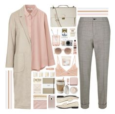 """""""101116"""" by rosemarykate ❤ liked on Polyvore featuring Hero, Etro, Uniqlo, Topshop, Dune Black, Acne Studios, Kiki de Montparnasse, Aesop, Forever 21 and The Body Shop"""