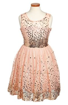 Free shipping and returns on Fiveloaves Twofish 'Just Peachy' Fit & Flare Dress (Big Girls) at Nordstrom.com. A shimmery sequined dress, complete with dreamy tulle skirt, will make her feel like the belle of the ball.