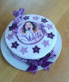 Kit gateau violetta
