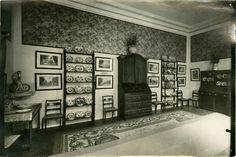 Comedor del Museo Nacional del Romanticismo de Madrid en la década de 1920