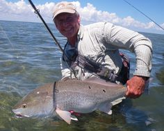 Fly Fishing on the South Padre Island, Redfish on the Fly by Mark Cowan. #Flydreamers #Flyfishing From Flydreamers.com