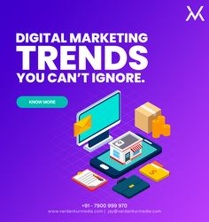 Digital Marketing Trends You Can't Ignore in 2020  1. Artificial Intelligence✅ 2. Programmatic Advertising✅ 3. Chatbots✅ 4. Conversational Marketing✅ 5. Personalization✅ 6. Video Marketing✅ 7. Influencer Marketing✅ 8. Social Messaging Apps✅ 9. Visual Search✅ 10. Voice Search & Smart Speakers✅ Digital Marketing Trends, Best Digital Marketing Company, Facebook Marketing, Social Media Marketing, Landing Page Optimization, Best Seo Services, Search Engine Marketing, Social Media Site, Influencer Marketing
