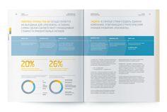 Rosneft, annual report 2012 by Viktor Miller-Gausa, via Behance