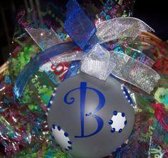 Personalized Monogrammed Polka Dot Christmas by backdoorpaisley, $6.75