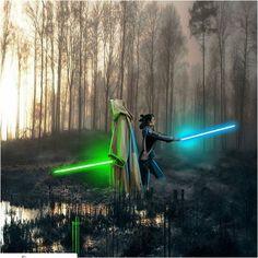 Rey. Luke. Star Wars