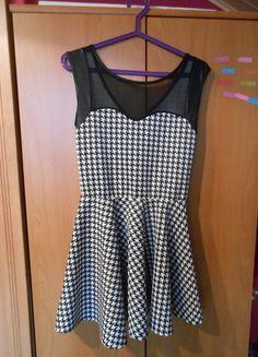 Kup mój przedmiot na #vintedpl http://www.vinted.pl/damska-odziez/krotkie-sukienki/11633764-bialo-czarna-sukienka-hit-sylwester-polecam-modn-tanioa