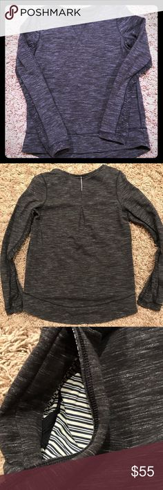 Women's Lululemon top Lululemon top size 6. Has side pockets - my daughter removed the tag lululemon athletica Tops Sweatshirts & Hoodies