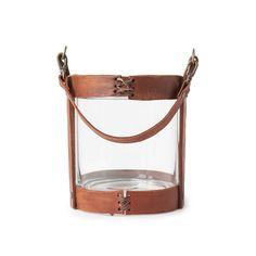 Lexington Lantern, Leather/Glass £69. - RoyalDesign.co.uk