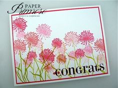 papertrey ink botanical silhouettes | generational stamping… « Paper Primrose